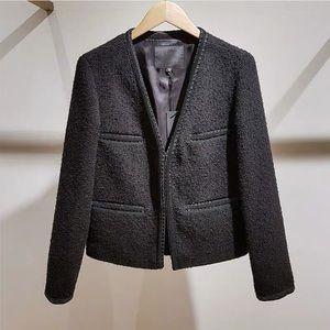 Maje Chanel style varsovie tweed jacket coat